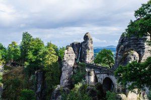 Ausblick auf die Bastei (305m)